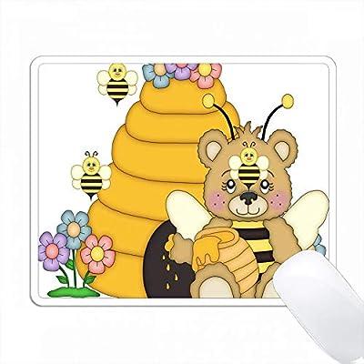 Amazon かわいいハチミツとハニーの蜂のイラスト Pc Mouse Pad パソコン マウスパッド Varezane マウスパッド 通販