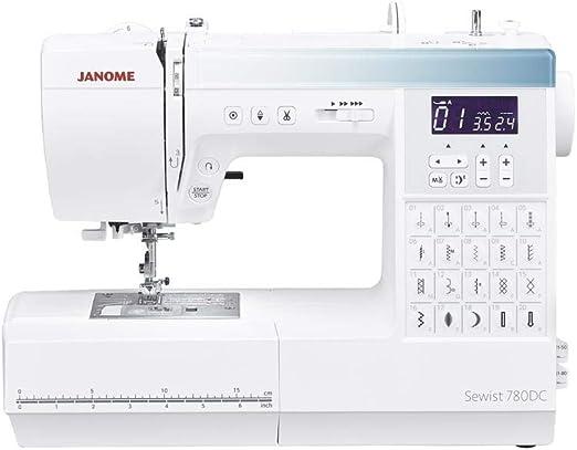 Janome 780DC máquina de coser computarizada. Ahorra 50 € Máquinas de coser: Amazon.es: Hogar
