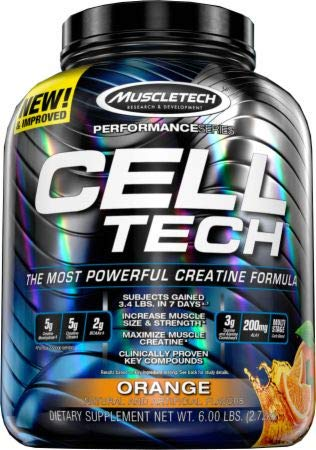 MuscleTech Performance Series Cell-Tech - Orange, 6.0 lbs (2.7 kg) by MuscleTech (Image #2)