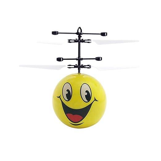 HUJUNG Juguete De Bola Voladora De Inducción, Luz LED Intermitente ...