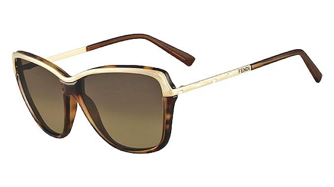 FENDI Gafas de Sol Gratuita de su Caso FS 5300 R 215: Amazon ...
