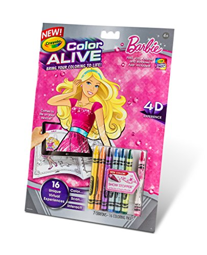 crayola color alive coloring pages - crayola color alive action coloring pages barbie buy