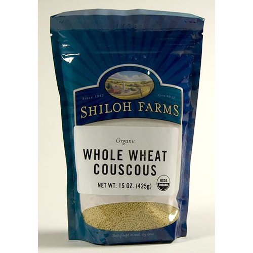 Organic Whole Wheat Cous Cous - 6 x 15 Oz