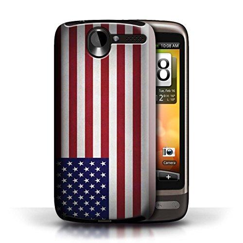 Etui / Coque pour HTC Desire G7 / Amérique/americain conception / Collection de Drapeau