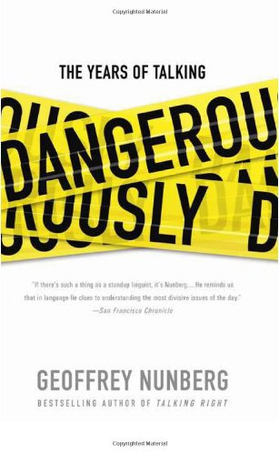 Download The Years of Talking Dangerously pdf