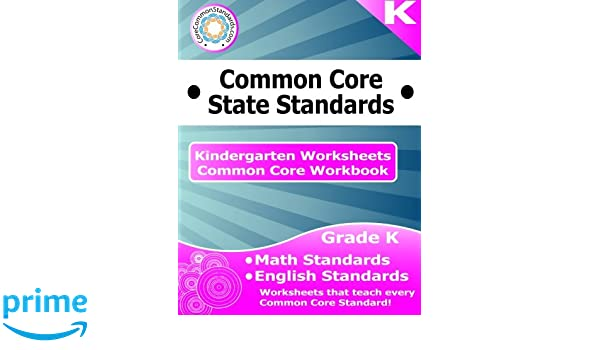 Counting Number worksheets math go worksheets : Kindergarten Common Core Workbook: Worksheets: CoreCommonStandards ...