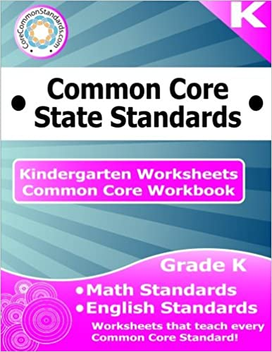 Kindergarten Common Core Workbook Worksheets Corecommonstandards