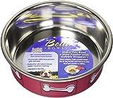 Loving Pets Coastal Bella Bowl for Dogs, Small, Hawaiian Red
