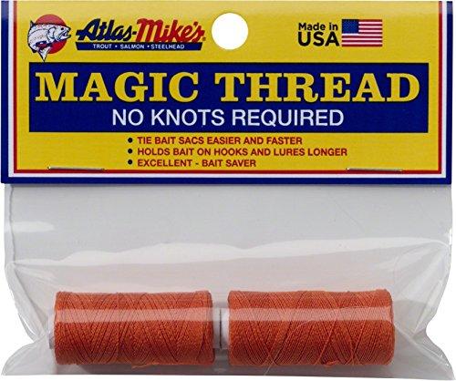 Atlas Mike's Magic Thread Spool (2 per Bag), Orange ()