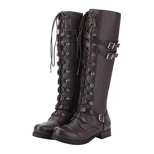 Schwarz weiss Gothic Goth Punk Ankle boots Stiefel