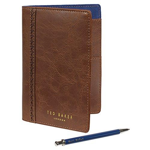 Ted Baker London Travel Wallet/Pen ~ Brown