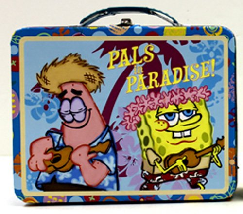 spongebob-squarepants-pals-in-paradise-embossed-metal-lunch-box-carry-all