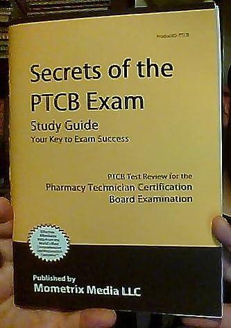 secrets of the ptcb exam study guide ptcb test review for the rh amazon com PTCB Study Materials Secrets of the PTCB Exam