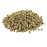 uxcell M3x3mmx4.3mm Brass Female Threaded Knurl Insert Embedded Nut Fastener 1000pcs