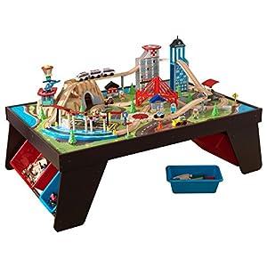 Good KidKraft Aero City Train Set U0026 Table