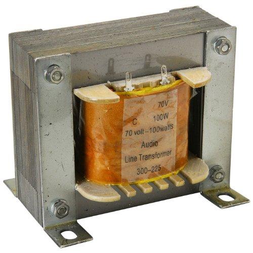 Speaker Transformer - Parts Express 70V 100W High Power Speaker Line Matching Transformer