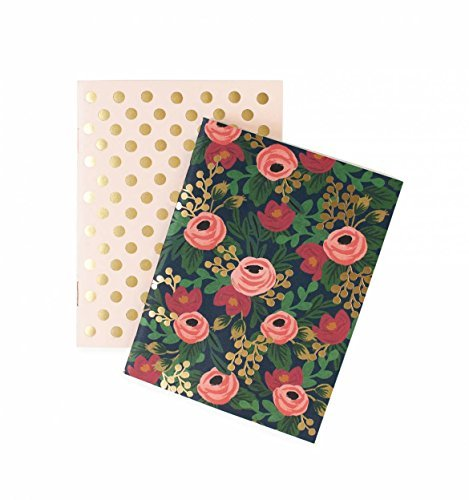 Rifle Paper Co. Set of 2 Pocket Notebooks - Rosa by Plus Rifle Paper Co.