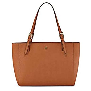 e22f2a77ec473d Amazon.com  Tory Burch York Small Buckle Tote (Luggage)  Clothing