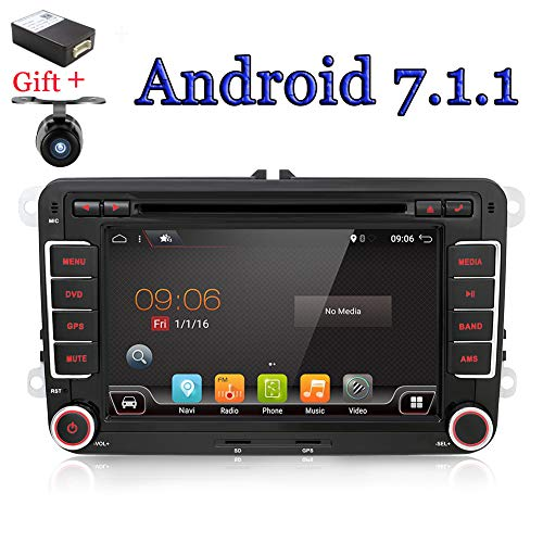 With camera+Canbus 7'' 2 Din android 6.0 Qual-core Touch Screen Car DVD...
