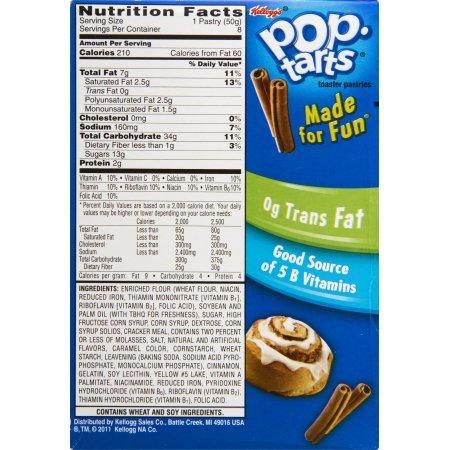 Kelloggs Pop-Tarts Cinnamon Roll, 8 ct, 14.1 oz (Pack of 4) by Kellogg's (Image #3)