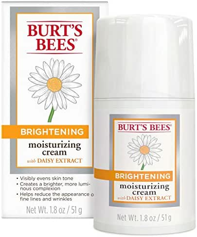 Facial Moisturizer: Burt's Bees Brightening Moisturizing Cream