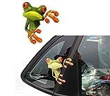 devil and angel girl sticker - MOKRIL Exterior Waterproof Vinyl Funny Car Stickers Decals ~ Family, Scary Eyes Peeking Monster Voyeur, Bear Paw Prints, Devil Angel Sexy Girls, Peep Frog, Skull, Smiley Faces, Panda (from U.S)