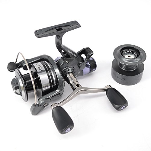 Hirisi Tackle Carp Fishing Reel Spinning Free Runner HB4000 with Free Extra...