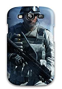 First-class Case Cover For Galaxy S3 Dual Protection Cover Battlefield
