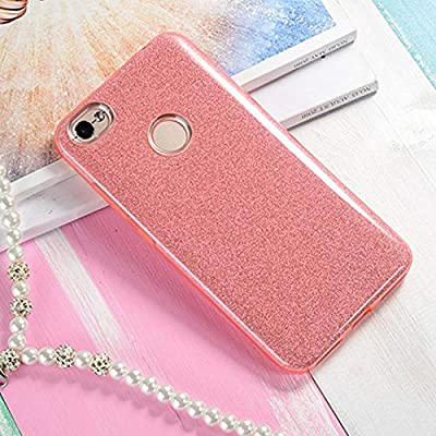 Amazon.com: PC &PE &TPU 3 in 1 Glitter Bling Case for Xiaomi ...