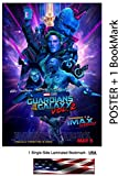 "Guardians of the Galaxy Vol. 2 II - Movie Poster / Flyer / Promo, 11 x 17"" Inches (Glossy Photo Paper) - Chris Pratt, Zoe Saldana, Vin Diesel"