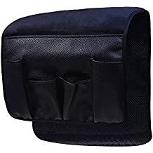 Wakaka Velvet Non-Slip Epoxy Sofa Couch Chair Armrest Soft Caddy Organizer Cell Phones, Books, Magazines Pencil or TV Remote Control Holder