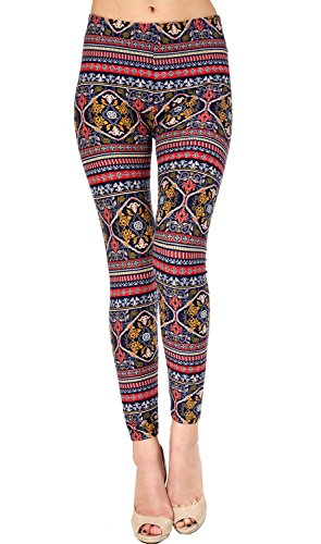 VIV Collection Best Selling Printed Brushed Leggings Plus Size (L – XXL) Listing 3 51wTErJDhjL