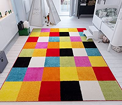 Well Woven Small Rug Mat Doormat Modern Kids Room Kitchen Rug Daisy Flowers Blue Accent Area Rug Entry Way Bright Carpet Bathroom Soft Durable