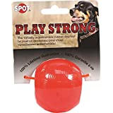 Ethical Pets Play Strong Virtually Indestructible Rubber Ball Dog Toy