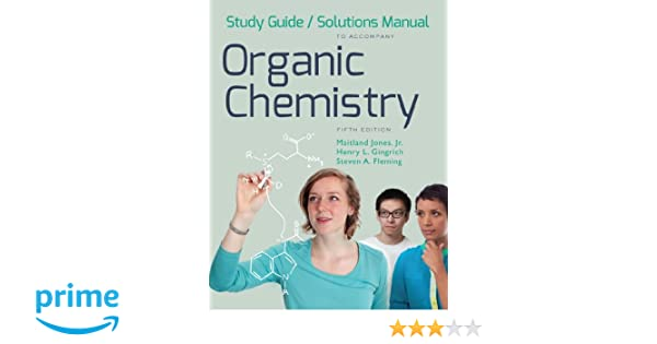 amazon com study guide and solutions manual for organic chemistry rh amazon com Organic Chemistry Chemistry Chemistry Chang 10th