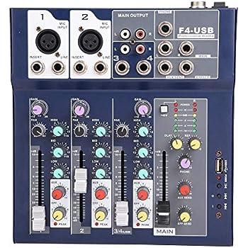 fosa mixing console mini 3 channel sound card mixing console digital audio mixer 3. Black Bedroom Furniture Sets. Home Design Ideas