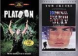 Oliver Stone Vietnam War Flim Collection - Platoon & Born on the Fourth of July 2-DVD Bundle