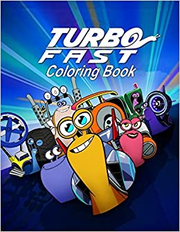 Amazon.com: Turbo FAST Coloring Book: One of the Best Coloring Book for Kids and Adults, Mini Coloring Book for Little Kids, Activity Book for All Family ...