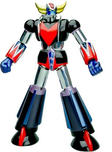 UFO Robot Grendizer Metaltech 01 6 Die Cast Chrome Action Figure Animewild HLP0005