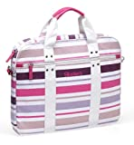 Skechers SKSLV04-PNK Multi Stripes Laptop Sleeve - Pink