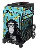 Zuca Monkey Business Sport Insert Bag with Sport Frame (Black, Plain Wheels)