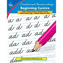 Carson-Dellosa 0886 Traditional Handwriting: Beginning Cursive, Grades 1 - 3