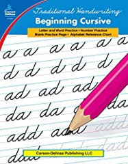 Build a solid foundation of forming letters with Traditional Handwriting: Beginning Cursive! The book is packed with letter practice pages grouped by similarity of formation so that students in grades 1–3 can practice letters with the ...
