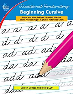 Carson-Dellosa 0886 Traditional Handwriting: Beginning Cursive, Grades 1 - 3