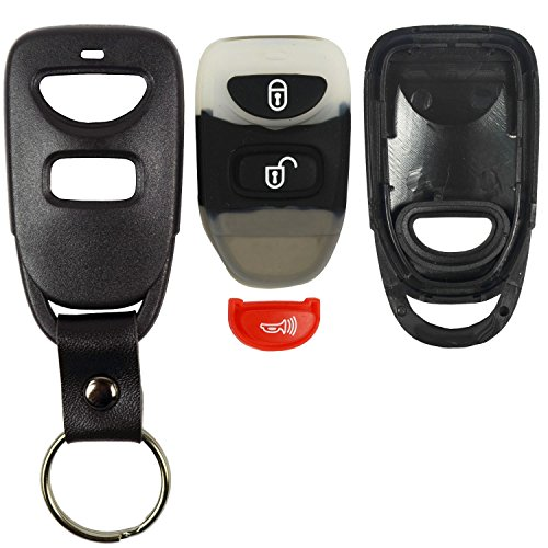 QualityKeylessPlus Replacement Keyless Entry Remote Key Fob for Hyundai Sonata and Elantra OSLOKA-310T
