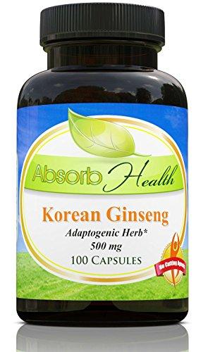 Panax Korean Ginseng Capsules Powerful