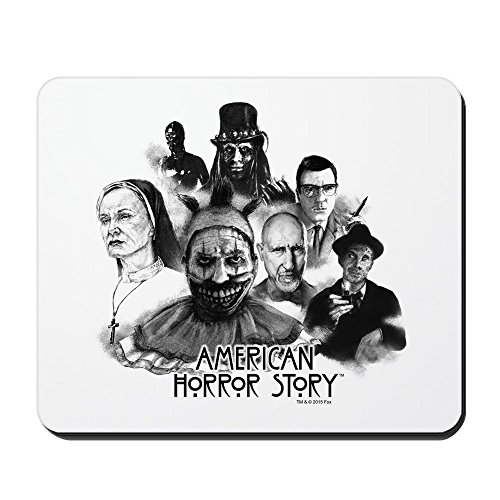 [CafePress - American Horror Story Characters - Non-slip Rubber Mousepad, Gaming Mouse Pad] (Cute Halloween Gifts For Coworkers)