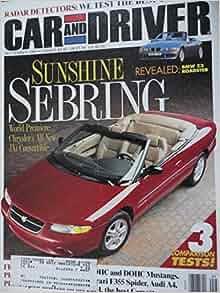 1995 1996 chevy chevrolet cavalier ford escort gt dodge neon sport ford mustang gt chevy monte carlo thunderbird chrysler sebring road test