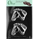 Cybrtrayd A086 Horse Head Chocolate Candy Mold with Exclusive Copyrighted Molding Instructions