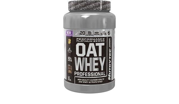 Nutrytec Oat Whey (Performance Platinum) 2 kg - Chocolate con Leche: Amazon.es: Alimentación y bebidas
